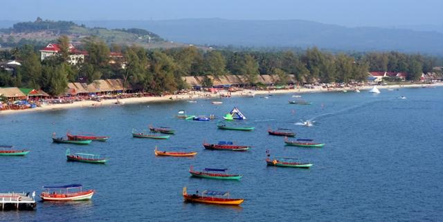 Город Камбоджи Сиануквиль