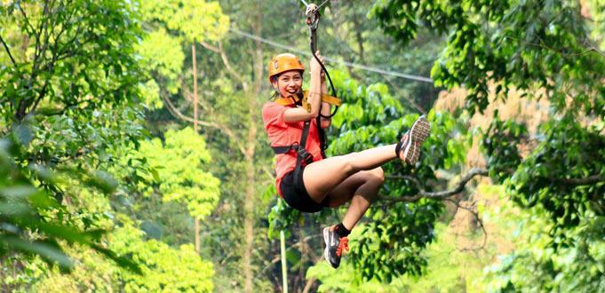 Angkor Zip Line