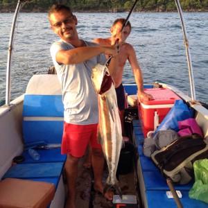 Рыбалка с русским капитаном в Сиануквиле