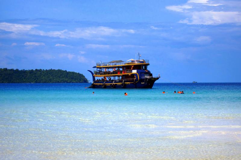 Морская прогулка по островам на Sun Boat