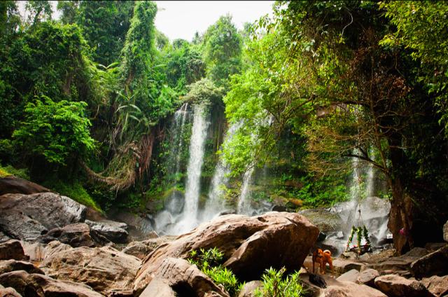 Кулен водопад
