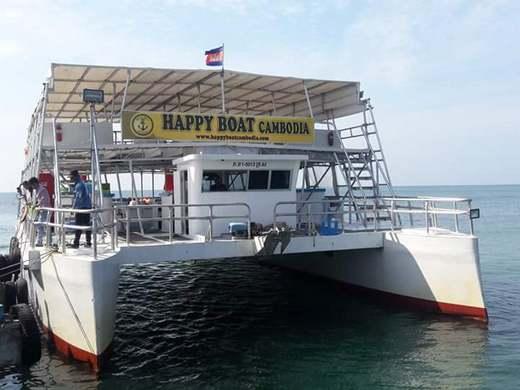 Морская прогулка по островам на Happy Boat