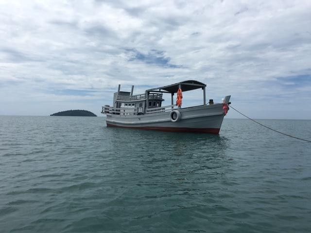 Приватная морская прогулка на кхмерской лодке